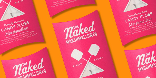 The Naked Marshmallow Co棉花糖食品包装